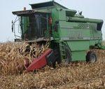 kombajny deutz fahr i john deere 150x127 Styczniowe dokaszanie kukurydzy i wtopa John Deere WTS 9560i   VIDEO