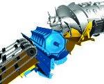 nh dynamic feed roll 190 150x121 Gąsienice gumowe SmartTrax™w kombajnach zbożowych New Holland serii CX i CR