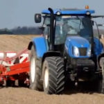 new holland t6.175 kverneland optima 150x150 New Holland T6.155 z rozsiewaczem Pomot UPR10   VIDEO