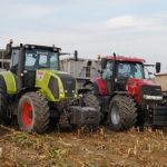 CGFP kukurydza na kiszonke sieczkarnia John Deere 150x150 Claas Axion 920 i New Holland T8020 w uprawie przedsiewnej w RZD Minikowo   FOTO