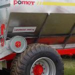 Pomot rozsiewacz UPR10 150x150 Aluminiowa obudowa skrzyni biegów w rozsiewaczach POMOT