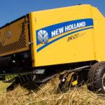 New Holland prasa BR120 150x150 New Holland wprowadza na rynek nową stałokomorową prasę rolującą  Roll Bar 125