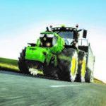 John Deere 6250R transport 150x150 John Deere V451M   premiera w Kielcach