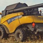 New Holland CR9080 Kukurydza na ziarno 2017 film 150x150 Pszenica od siewu po zbiór – w polu Blue Team New Holland (VIDEO)