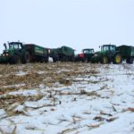 DSCF7226 150x150 Pech kombajnu John Deere WTS 9560 w zimowym docinaniu kukurydzy   FOTO