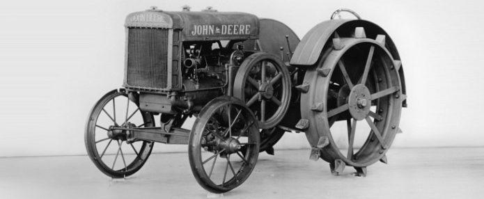 Historia ciągników John Deere