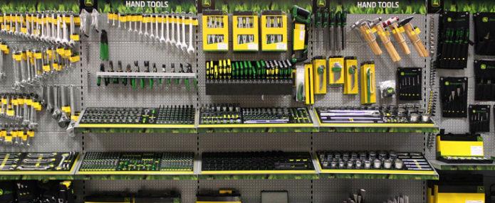 Ręczne narzędzia warsztatowe firmy John Deere
