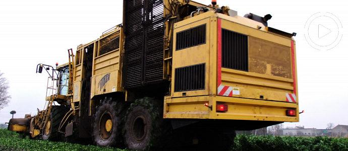 Kombajn Ropa Eurotiger kopie seler, w transporcie John Deere 4755