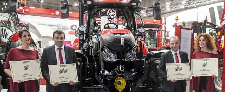 Marka Case IH wielokrotnie nagrodzona na targach Fieragricola 2018