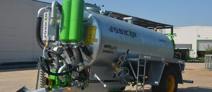 Nowy wóz czyszczący MODULO 2 HYDRO-VACUU firmy Joskin