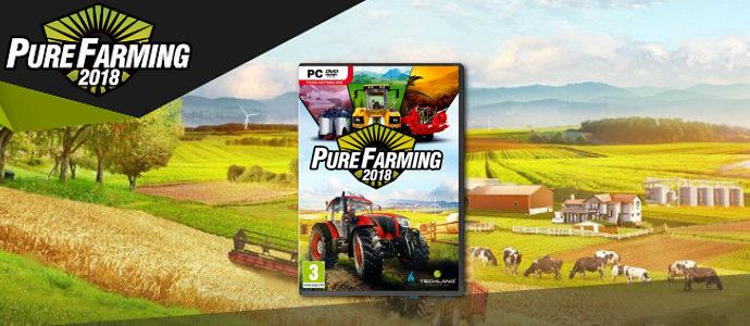 Pure Farming 2018 – premiera gry na targach AGROTECH w Kielcach