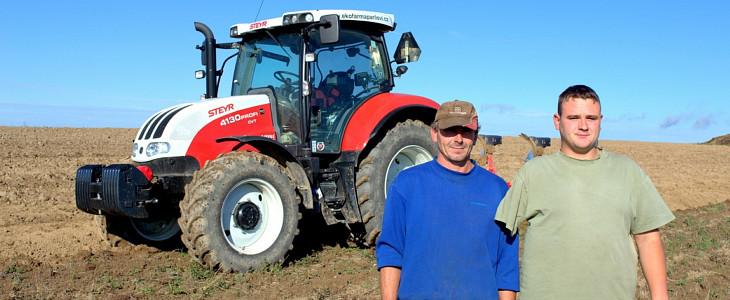 Steyr dla niepełnosprawnego rolnika z Czech