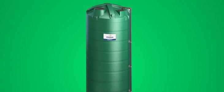 Zbiornik do przechowywania nawozów płynnych firmy Kingspan