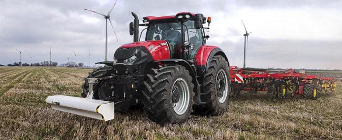 Czujnik gleby do sterowania maszynami uprawowymi w ofercie Case IH