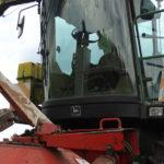 John Deere 6710 kukurydza kiszonka 2018  film 150x150 W suszy też się można zakopać! Ursusy i Claas Jaguar 880 w kukurydzy   FOTO