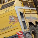 Ropa Tiger 6 kampania buraczana 2018  film 150x150 Nie tylko samojezdne kolosy kopią buraki   w polu kombajn Stoll V202 i New Holland TD80D (VIDEO)