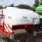 Unia TOP1200E przedni zbiornik 150x150 UNIA EUROPA XL 3024   test kompensacji dawki na zakrętach