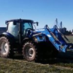 New Holland T6030 Kverneland nawozy 2019  film 150x150 Słaby rok dla kukurydzy   NEW HOLLAND TC5.80 na polach Blue Team   VIDEO