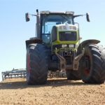 DSCN6951 150x150 Siew kukurydzy w RSP Kazin: Zetor 12145 + Aeromat, Claas Atles 946 + Farmet   FOTO