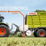 Claas Cargos 8000 9000 TIM SPEED CONTROL 150x150 Co lepiej wybrać do sianokiszonki   przyczepę czy prasę z owijarką?