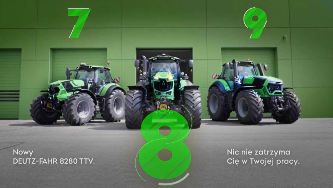DF 8 2 #AlwaysOnTractor – Nowy DEUTZ FAHR 8280 TTV oficjalnie zaprezentowany