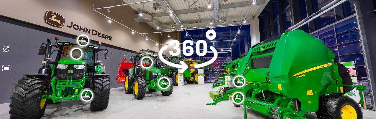 John Deere wirttualne ekspo billboard video e targi rolnicze 2021   wirtualne ekspozycje