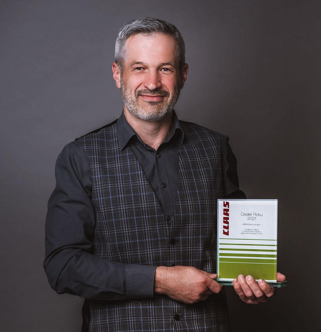agroas prezes daniel cupriak DEALER ROKU CLAAS 2021   nagrody przyznane