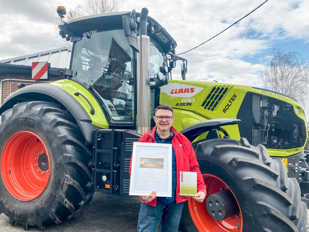 roltex wlas ciciel ernest zielin ski DEALER ROKU CLAAS 2021   nagrody przyznane