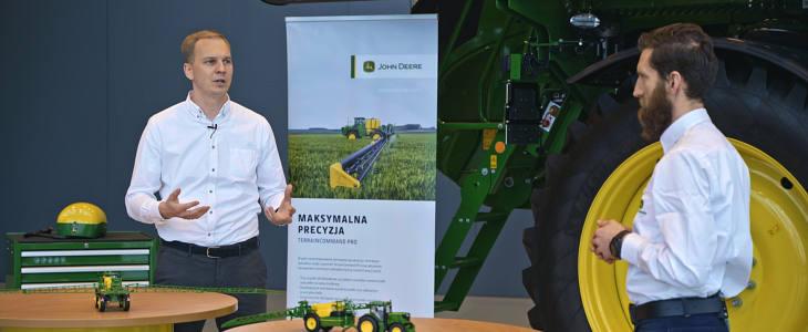 John Deere zielony lad webinarium John Deere: Europejski Zielony Ład przyspieszy technologiczną transformację