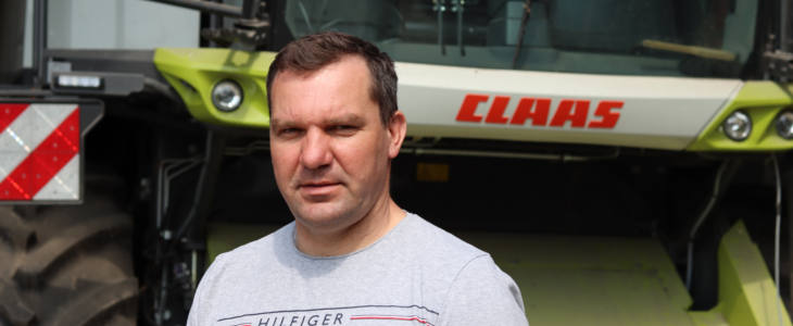 Pan Jaroslaw Claas Lexion 6800 Łatwy w obsłudze, wydajny i oszczędny   CLAAS LEXION II w opinii właścicieli i operatorów