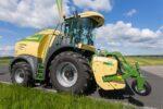 koszenie i zbiór traw UŁĘŻ 2021 215 150x100 Pokazy koszenia i zbioru traw w Ułężu – sieczkarnia KRONE BigX 630   fotorelacja