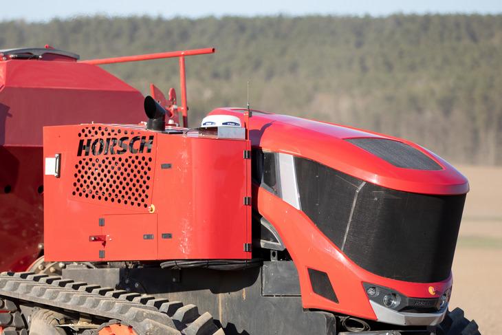 Horsch autonomiczna jazda 3 HORSCH intensywnie pracuje nad różnymi aspektami jazdy autonomicznej