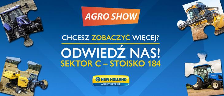New Holland premiery agroshow 2021 Nowości marki New Holland na AGRO SHOW 2021